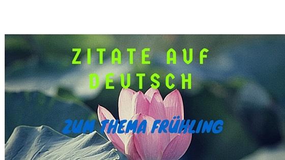 Wiosna Po Niemiecku Nauka Niemieckiego W Domunauka
